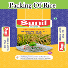 Packing of Rice